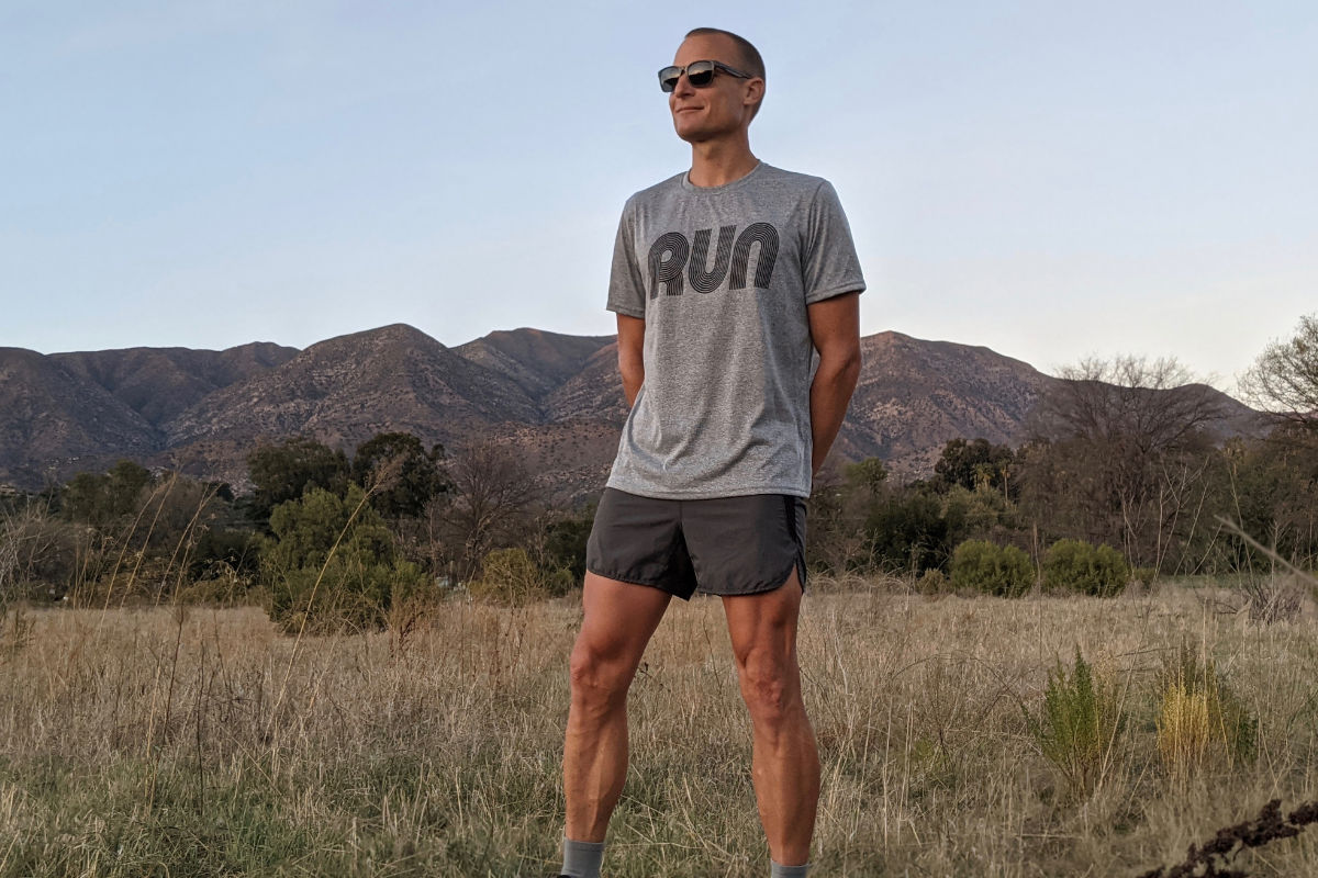 American Made In USA Mens Running Shirts Performance Sportswear Fitnesswear Runyon Canyon Apparel