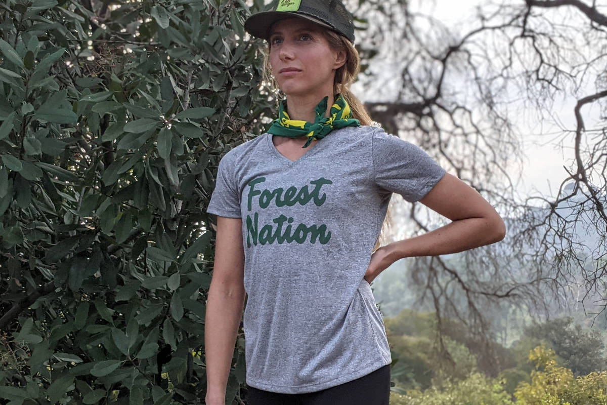 American Made In USA Running Clothing Apparel Hiking Trails Outdoor Fitness