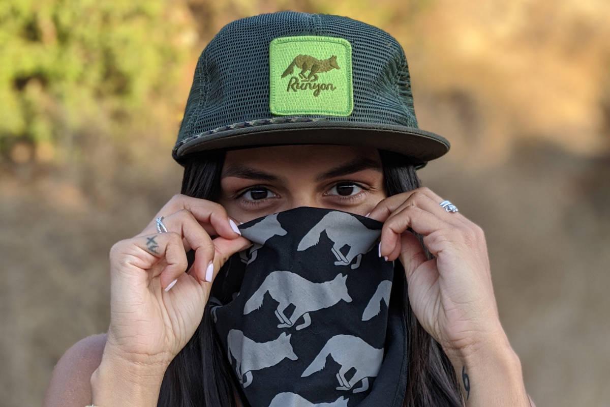 American Made In USA Trucker Hats Bandanas Running Clothing Performance Fitness Sportswear Runyon Canyon Apparel