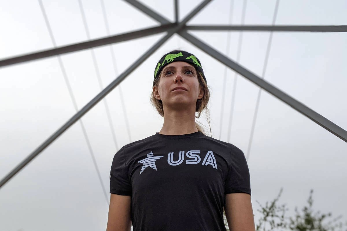 American Made In USA Running Clothing Womens Performance Fitness Apparel Runyon USA