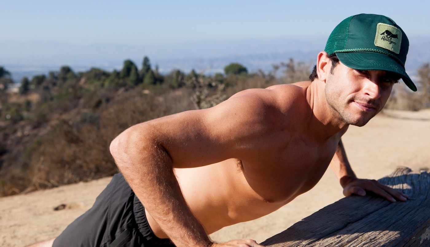 Runyon Canyon Apparel Forest Green Trucker Hat Made In USA