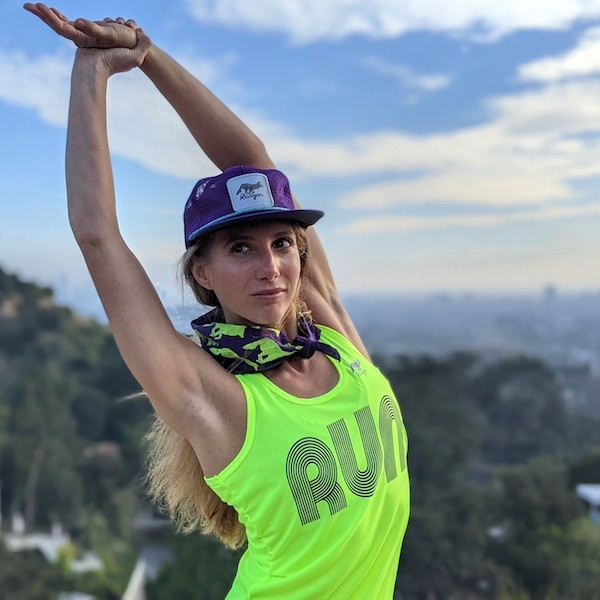American Made In USA Womens Running Clothing Fitness Peformance Sportswear Runyon Canyon Apparel