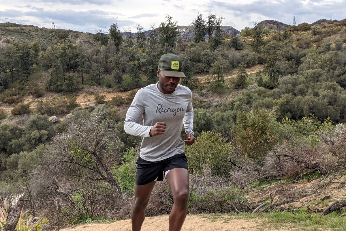 American Made In USA Mens Running Clothing Performance Sportswear Fitness Bandanas Runyon Canyon Apparel