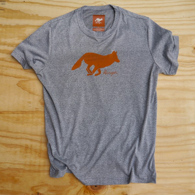 Runyon Canyon Apparel Mens Signature Hunter Orange Performance Shirt Made In USA
