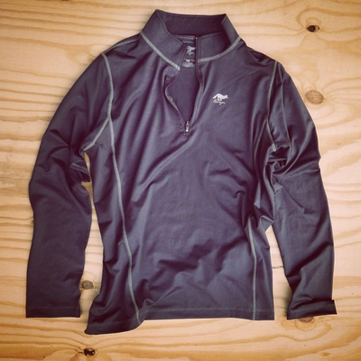 Runyon Canyon Apparel Mens Graphite Zip-Up Made In USA