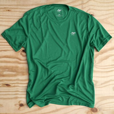 Runyon Canyon Apparel Mens Green Clover Performance Trail Shirt Made In USA