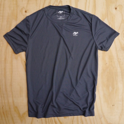 Runyon Canyon Apparel Mens Graphite Performance Trail Shirt Made In USA