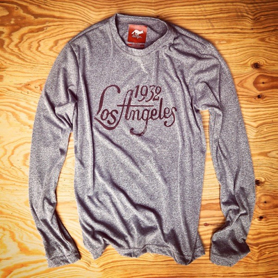 Runyon Canyon Apparel Mens Signature 1932 Los Angeles Performance Shirt Made In USA