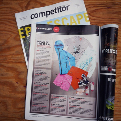 Runyon Canyon Apparel featured in Competitor Magazine