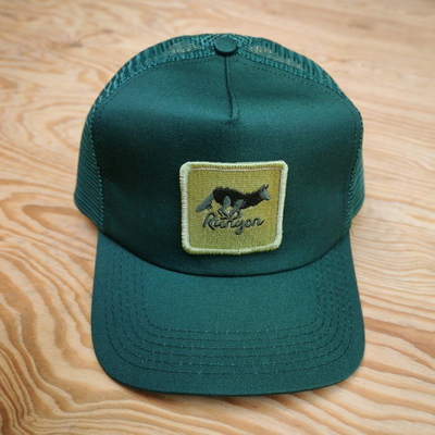 Runyon Green Canyon Trucker Hat Made In USA