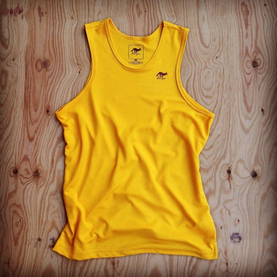 Runyon Canyon Apparel Golden Performance Power Tank - Made In USA