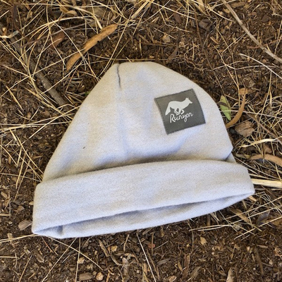 Runyon Grey Charcoal Reflective Cuff Hat Beanies Made In USA