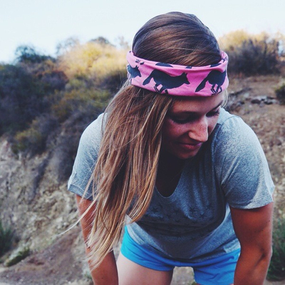 Runyon Canyon Apparel Hot Pink Signature Bandana Made In USA