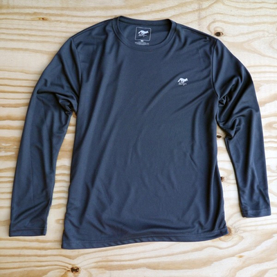 Runyon Canyon Apparel Men's Graphite Performance Trail Shirt Made In USA