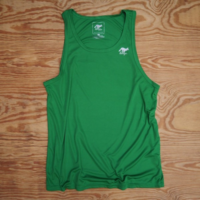 Runyon Canyon Apparel Mens Green Springs Fitness Running Fitness Tank Top (Made In The USA)