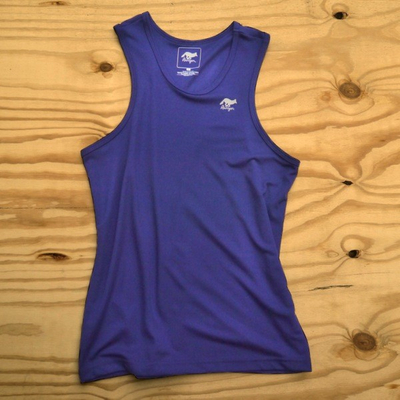Runyon Canyon Apparel Mens Royal Blue Performance Power Tank