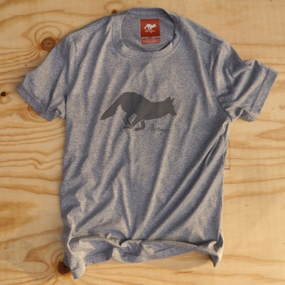 Runyon Canyon Apparrel Mens Signature Performance Shirt Charcoal Heather Grey Made In USA