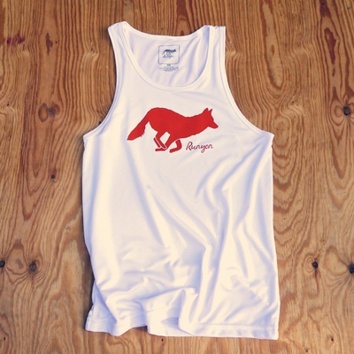 Runyon Canyon Apparel Men's Signature Logo White Performance Tank