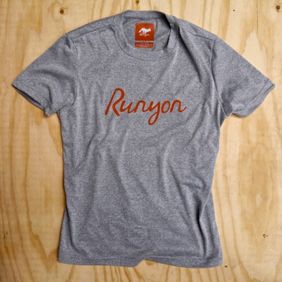 Runyon Canyon Apparel Mens Signature Logo Performance Fitness Shirt Made In USA