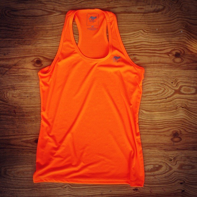 Runyon Canyon Apparel Women's Neon Orange Yoga Tank