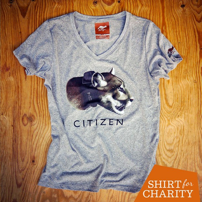 Runyon Canyon Apparel P-22 Citizen For Los Angeles Wildlife Charity Shirt