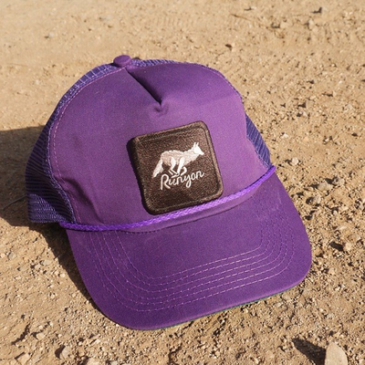 Runyon Canyon Apparel Purple Woods Vintage Sweatband Trucker Hat