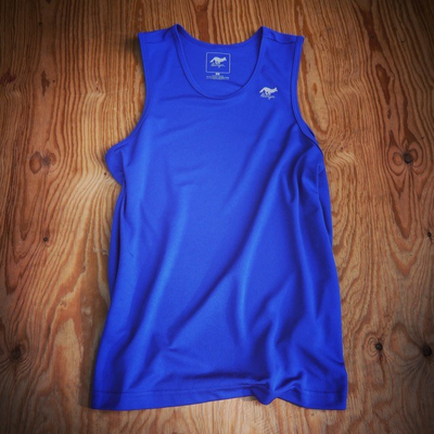 Runyon Canyon Apparel Mens Royal Blue Power Tank Made In USA