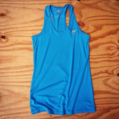 Runyon Canyon Apparel Women's Amazing Blue Yoga Tank