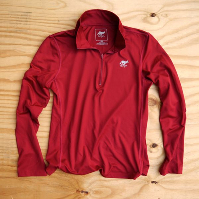 Runyon Canyon Apparel Burgandy Red Peformance Running Jacket Made In USA