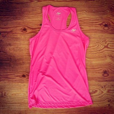 Runyon Canyon Apparel Women's Totally Hot Pink Yoga Tank