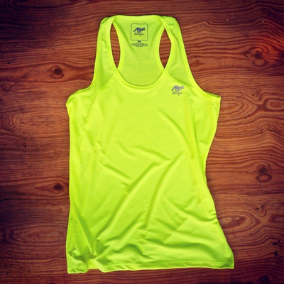 Runyon Canyon Apparel Women's Neon Yellow Yoga Tank