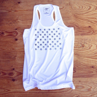 Runyon Canyon Apparel Women's Striped Star Yoga Tank