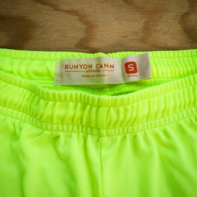 Runyon Canyon Apparel Womens Neon Basic Training Running Shorts - Made In USA