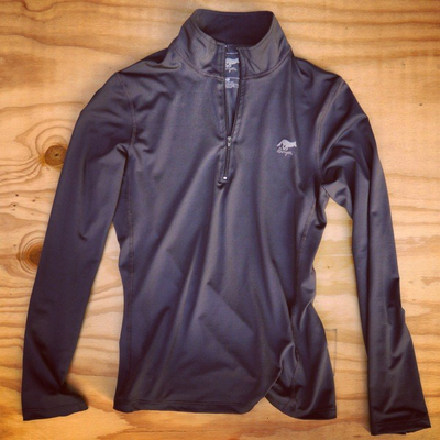 Runyon Canyon Apparel Womens Slate Peformance Zip Made In USA