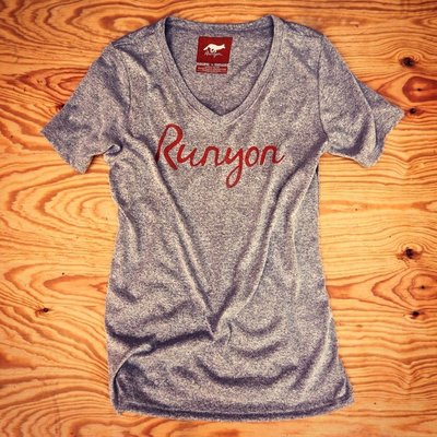 Runyon Canyon Apparel Womens Signature Logo Performance Shirt Made In USA