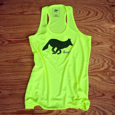 Runyon Canyon Apparel Women's Neon Forrester Yoga Running Tank