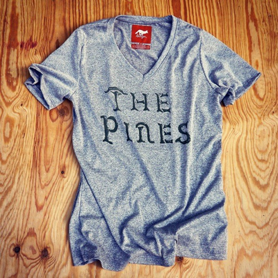 Runyon Canyon Apparel Womens The Pines Performance Fitness Shirt