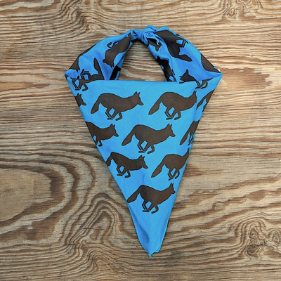 Runyon Canyon Apparel Turquoise Pines Bandana Made In USA great for Running, Hiking, Trails, Yoga, Outdoor Fitness