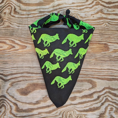 Runyon Canyon Apparel Black Mutant Ninja Bandana Made In USA