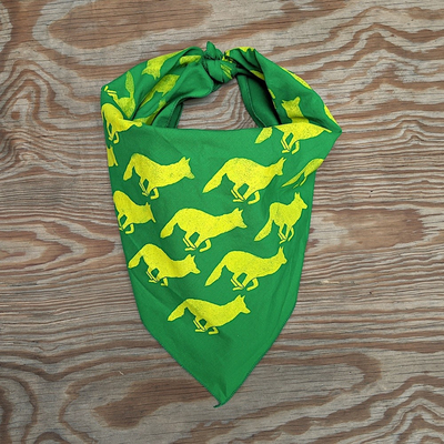 Runyon Canyon Apparel Signature Clover Lime Bandana Made In USA
