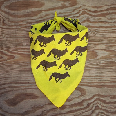Runyon Canyon Apparel Mellow Yellow Woods Signature Bandana Made In USA
