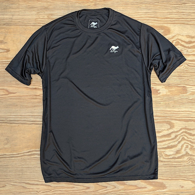 Runyon Canyon Apparel Mens Black Training Performance Fitness Shirt Made In USA