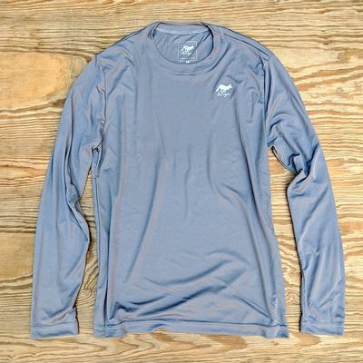 Runyon Canyon Apparel Mens Greystone Long Fitness Shirt Made In USA