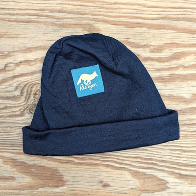 Runyon Navy Blue Jay Reflective Beanie Made In USA