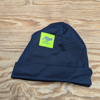 Runyon Reflective Neon Navy Cuff Hat Beanie Made In USA