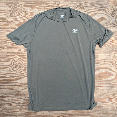 Runyon Canyon Apparel Mens Sierra Sage Trail Shirt great for Running, Hiking, Trail, Outdoor Fitness made in USA