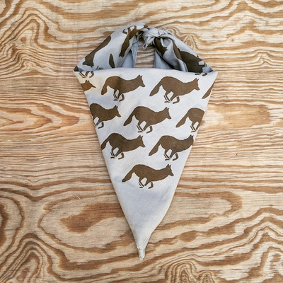 Runyon Canyon Apparel Signature Gray Woods Bandana Made In The USA