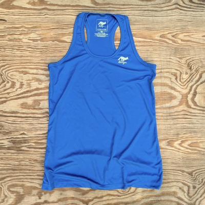 Runyon Canyon Apparel Women's Royal Blue Fitness Tank Made In USA