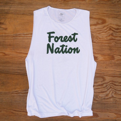 Runyon Mens Forest Nation Adventure Club Fitness Sweat Tank