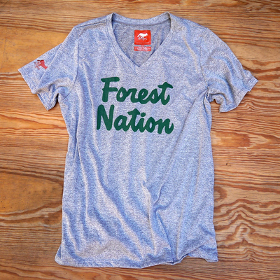 Runyon Canyon Apparel Forest Nation Adventure Club Signature Fitness Shirt Made In USA